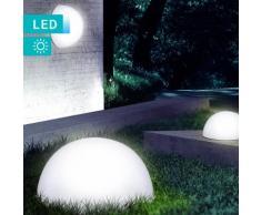 LED-Solarleuchte Halbkugel