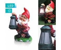 LED-Solarlampe Zwerg