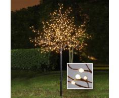 LED-Baum mit Kugellichtern