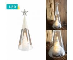LED-Dekoration Tannenbaum & Stern