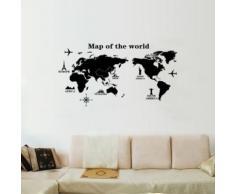 Wandtattoo Weltkarte » günstige Wandtattoos Weltkarte bei Livingo ...
