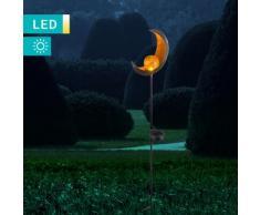 LED-Solarleuchte Halbmond