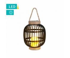 Solarlampe im Käfigdesign