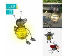 LED-Solarlampe Insekt