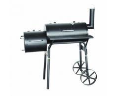 El Fuego Holzkohlegrill mit Smoker