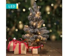 LED-Weihnachtsbaum mit Schnee