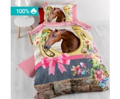Kinder-Bettwäsche Pferd