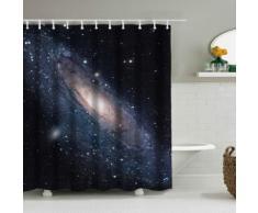 3D-Duschvorhang Galaxie