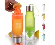 Infusions-Trinkflasche mit Zitruspresse
