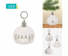 LED-Dekolampe aus Porzellan