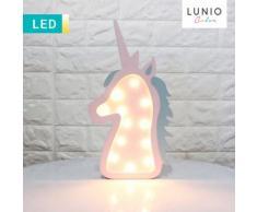 LED-Dekoleuchte im Einhorndesign