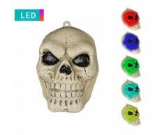 LED-Dekoleuchte Totenschädel