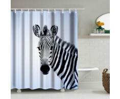 3D-Duschvorhang Zebra