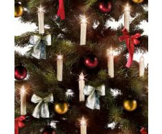 10 LED-Baum-Kerzen