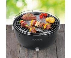 Gourmetmaxx Holzkohle-Grill mit elektrischer Belüftung