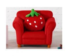 Kindersessel Stoff Erdbeere