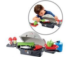 Ecoiffier Barbeque Tischgrill mit Zubehr [Kinderspielzeug]