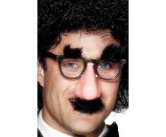 Smiffys - Brille mit Nase Bart Augenbrauen Lustig Scherzartikel