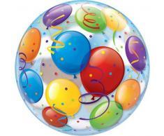 Qualatex 39.639,2 cm Single Luftballons 2,5 cm Bubble Ballon, 22