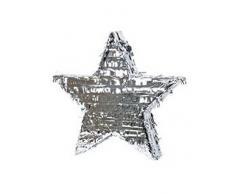 Amscan Pinata Stern Silber