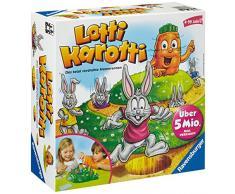 Ravensburger Kinderspiel Lotti Karotti - 21556 / Das lustige Brettspiel für die ganze Familie