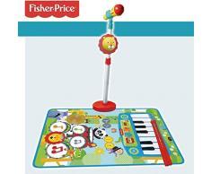 CLAUDIO REIG – Teppich mit Fisher Price mit Mikrofuß und Stangen, Mehrfarbig (2727)