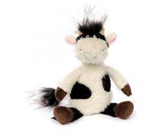 sigikid, Stofftier für Erwachsene und Kinder, Kuh klein, AchGood Family und Friends, Weiß und Schwarz, 38721
