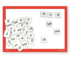 Inspirational Classrooms magnetische Fliesen aus Kunststoff, lehrreiches Spielzeug (klein)