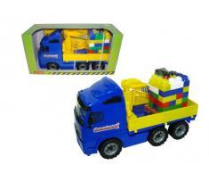 Putzwagen polesie9586 53,5 x 26,5 x 20,5 cm Volvo Truck mit Kran Arm