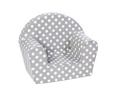 Knorrtoys 68340 - Kindersessel - dots grey