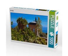 CALVENDO Puzzle Pavillon 1000 Teile Lege-Größe 64 x 48 cm Foto-Puzzle Bild von Bernd Zillich