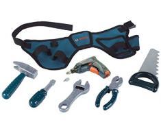 Theo Klein 8260 - Bosch Werkzeuggürtel mit Akkuschrauber, Professional, Spielzeug