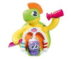 TOMY Toomies Schildkröten Friseursalon - Lustiges Wasserspielzeug für Badewanne und Planschbecken - fördert Feinmotorik und Sinne - Für Kleinkinder ab 18 Monate