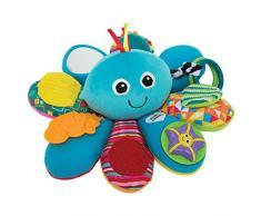 Lamaze Babyspielzeug Octivity-Spielkrake mehrfarbig, hochwertiges Kleinkindspielzeug, vereint Kuscheltier und Greifling, Krake Plüschtier, fördert die Motorik des Kindes, ab 6 Monate