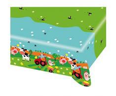 amscan 9900377 Tischdecke Farm Fun