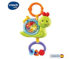 VTech Baby – cantacol und interaktive oruguita, varillón Pendelleuchte mit Form von Schnecke, mit über 50 Melodien, Songs, Sounds und Sätze, mit Möbelgriff Icons (3480 – 508522)