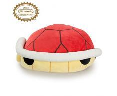 Nintendo Mario Kart Mocchi Mocchi Plüsch-Tier Spielzeug Deko Kissen Sitzkissen Kuschelkissen Roter Panzer 【 sehr weich 】- für Kinderzimmer oder Sofa - 40 cm gross - rot