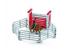 Schleich 41419 - Bull Riding mit Cowboy - Spielzeug
