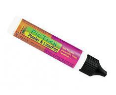 Kreul 49801 - PicTixx Pluster und Liner Pen, Plusterfarbe zum Dekorieren und Verzieren, für Dekoeffekte durch aufplustern im Backofen, mit Bügeleisen oder Fön, 29 ml Pen, weiß