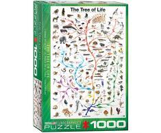 EuroGraphics 6000-0282 Der Lebensbaum Puzzle, Mehrfarbig