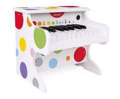 Janod J07618 Konfetti Mein Erstes Piano Elektronisch, Mehrfarbig