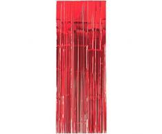 Amscan International 24200–40 91 cm x 2,43 m Apple Rot Tür Vorhang