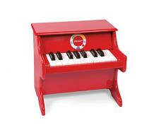 Janod J07622 - Konfetti Piano, rot