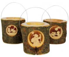 Small Foot Company 3536 - Laterne Rusty, 3-er Set