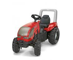Rolly Toys rollyX-Trac Valtra Trettraktor (Alter 3 - 10 Jahre, mit Flüsterlaufreifen, Sitz verstellbar, Überrollbügel) 036882