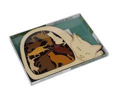 Constantin C5069 Puzzle, Katzenkorb, naturfarben
