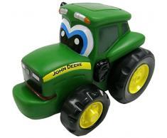 TOMY Spielzeugtraktor John Deere Johnny Traktor Schieb-mich in grün - Spielzeug Trecker zum Schieben & mit Selbstfahrfunktion aus Kunststoff - ab 18 Monate