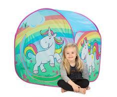 John 78807 Spielzelt Einhorn mit Schönem Motiv für Kinder