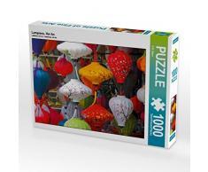 CALVENDO Puzzle Lampions, Hoi An 1000 Teile Lege-Größe 64 x 48 cm Foto-Puzzle Bild von S.B. Otero