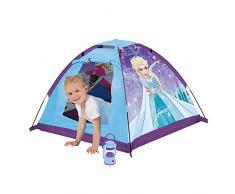 John 75166 My Starlights Gartenzelt Eiskönigin mit LED Lampe Outdoor Spielzelt Abenteuerzelt Kinderzelt, Blau